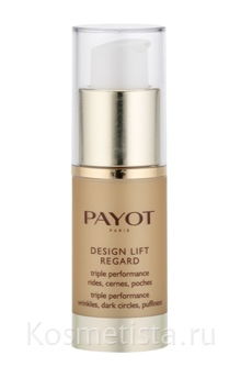 Payot Design Lift Regard Triple Performance Wrinkles, Dark Circles, Puffiness — Крем для век тройного действия