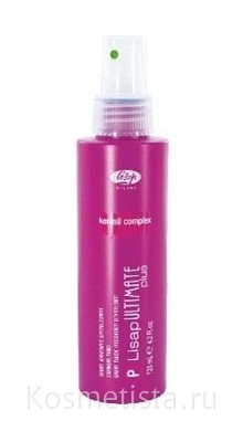 Разглаживающий флюид Lisap Ultimate Straight Fluid Plus