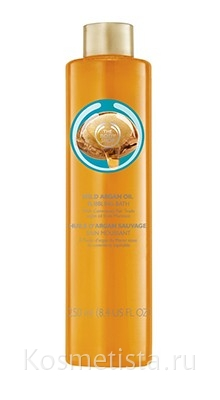 Пена для ванны «Дикая аргана» The Body Shop Body Wild Argan Oil Bubbling Bath