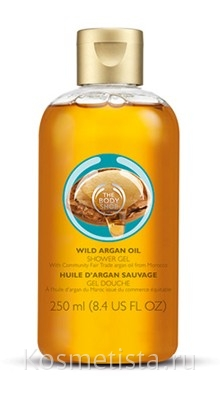 Гель для душа с аргановым маслом The Body Shop Wild Argan Oil Shower Gel