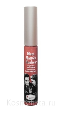 The Balm Meet Matt(e) Hughes Long Lasting Liquid Lipstick – Стойкая жидкая губная помада