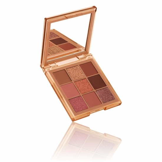 Huda Beauty Medium Nude Obsessions Eyeshadow Palette – Палетка теней для век