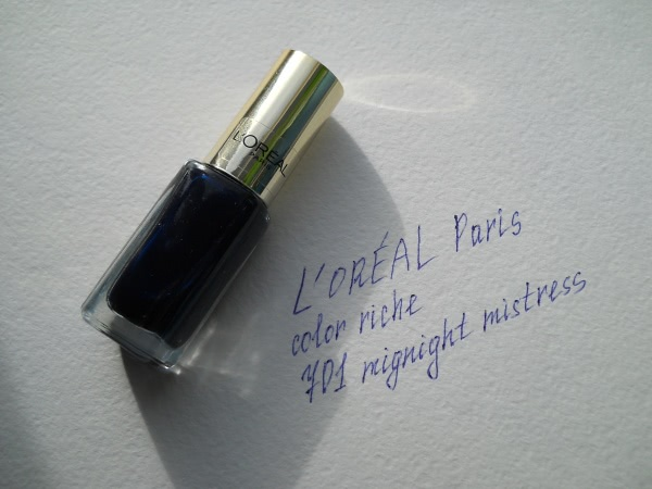 Околочерный красавец - L'oreal Paris Color Riche 701 midnight mistress