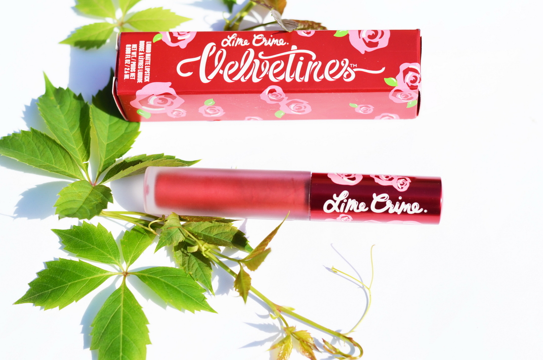 Lime crime Metallic Velvetines Red hot