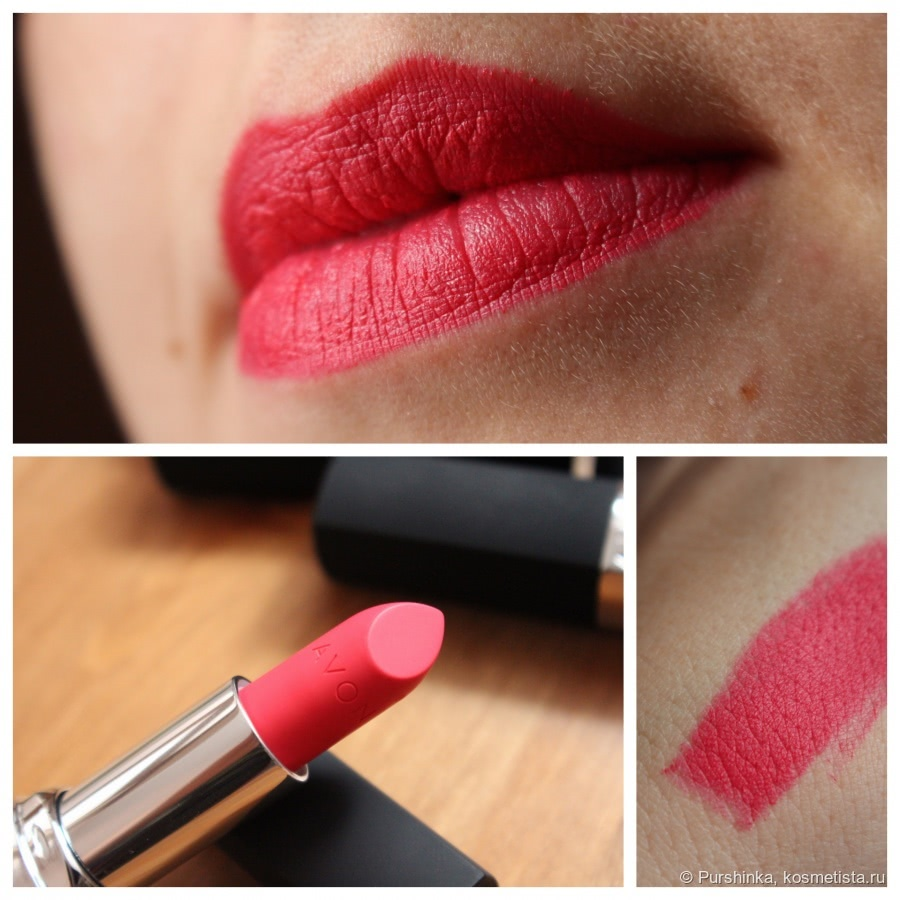 Матовое превосходство - Avon True Colour Perfectly Matte Lipstick