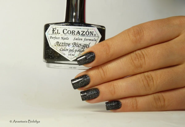 El Corazon Active Bio-gel Color Gel Polish - №423/508 Large Hologram