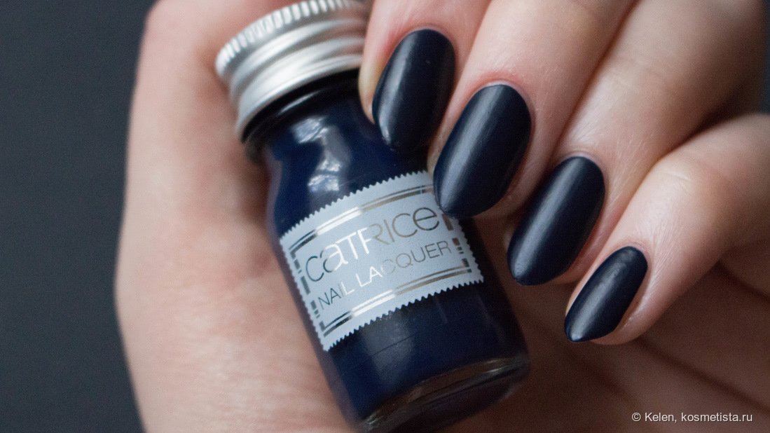 Catrice Travelight Story (Limited Edition). Nail Polish C03 Deep Dark Waters