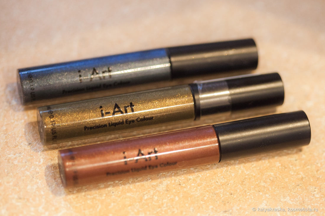 Жидкие тени Sleek MakeUp I-Art Liquid Precision Eye Colour