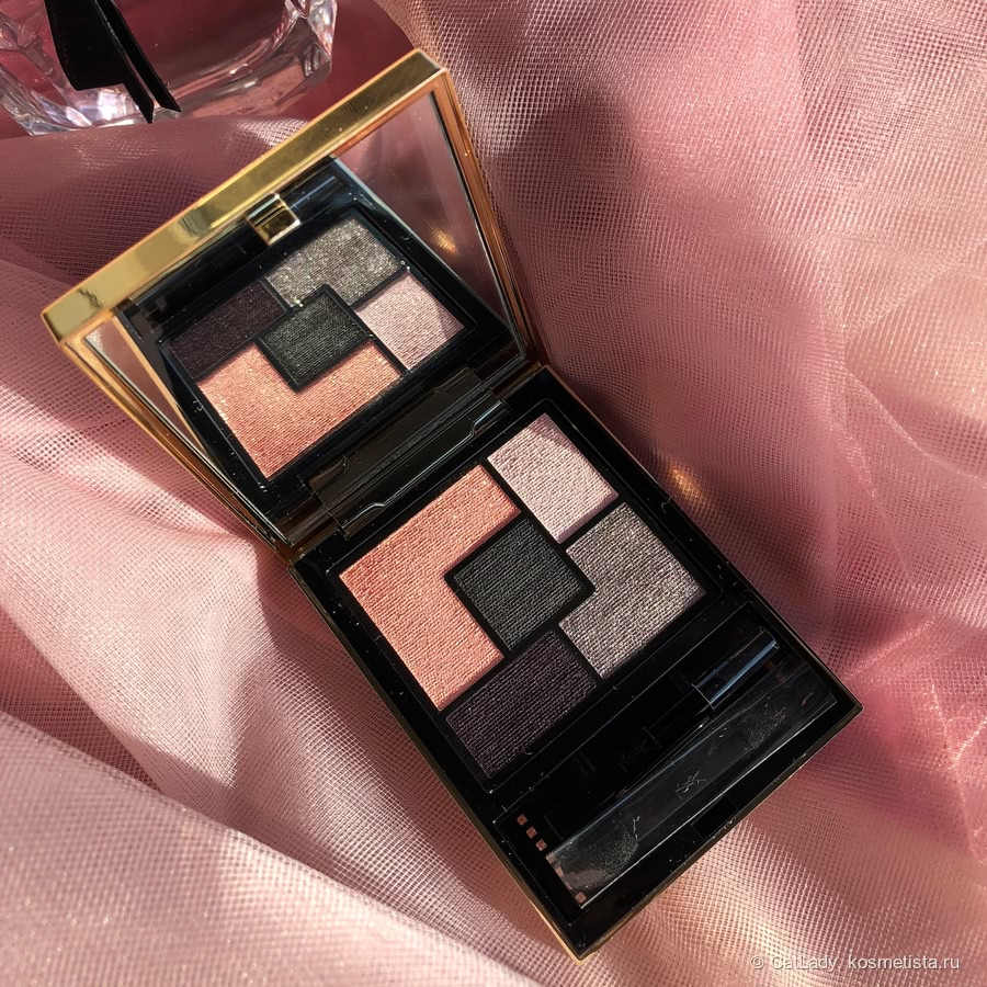 Тени для век YSL Mon Paris Couture Eyeshadow Palette - Лето 2018